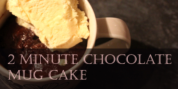 Nigella Chocolate Cake In A Mug