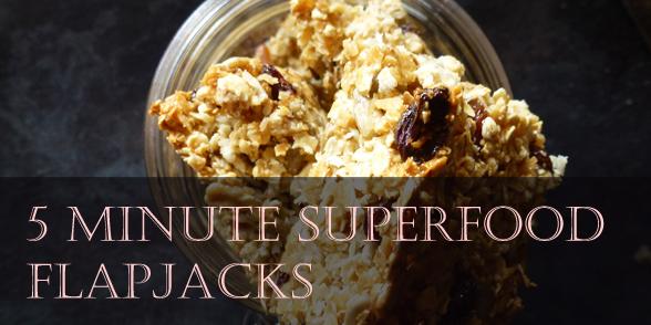 superfood flapjacks