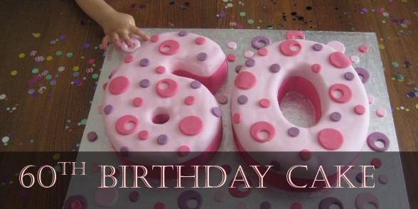number celebration cake