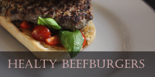 Healthy burger recipe