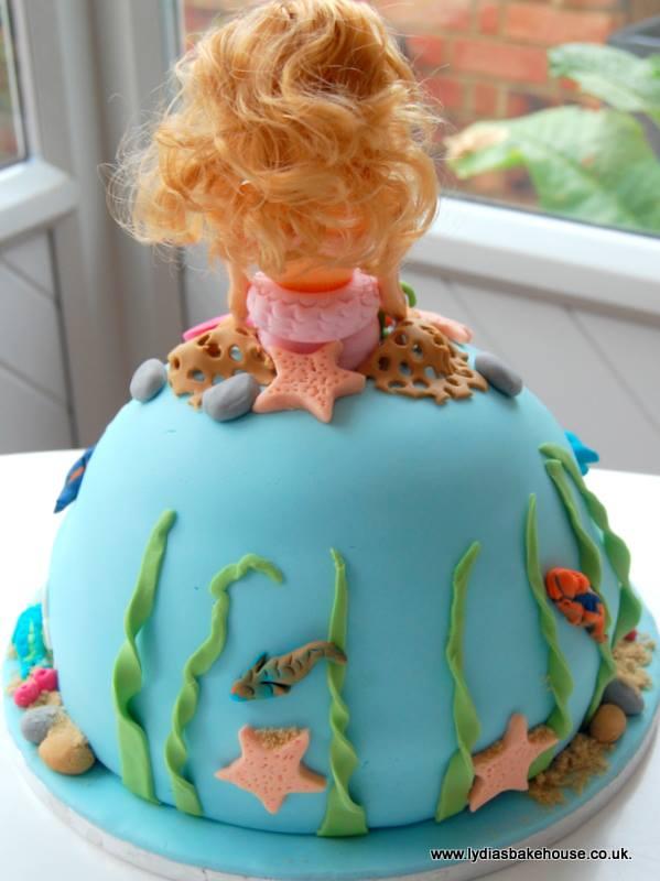 The Best Barbie Mermaid Cake In The World Nice Like