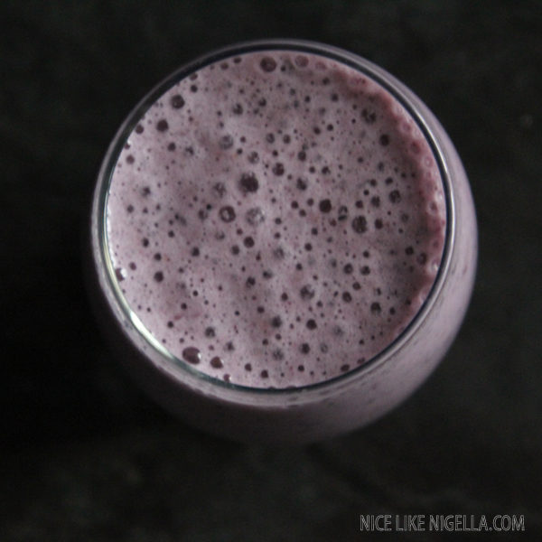 Iced superfruit smoothie