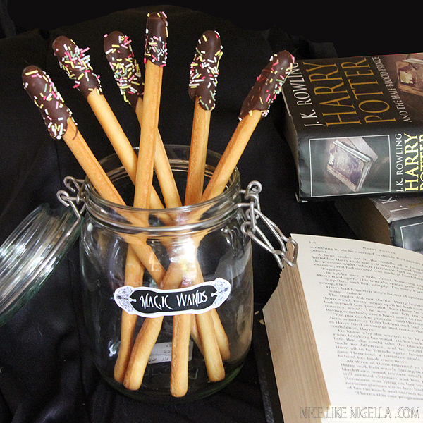 Harry Potter Chocolate Wands