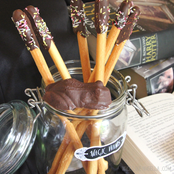 Harry Potter Chocolate Wands and Frogs