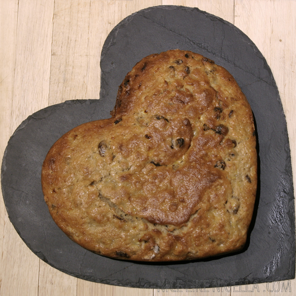 Heart Healthy Banana Cake