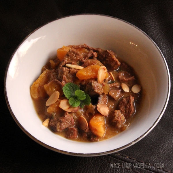 Slow Cooking recipe: Moroccan lamb with apricots and almonds