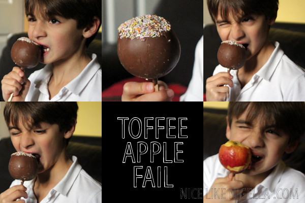 Toffee Apple Fail